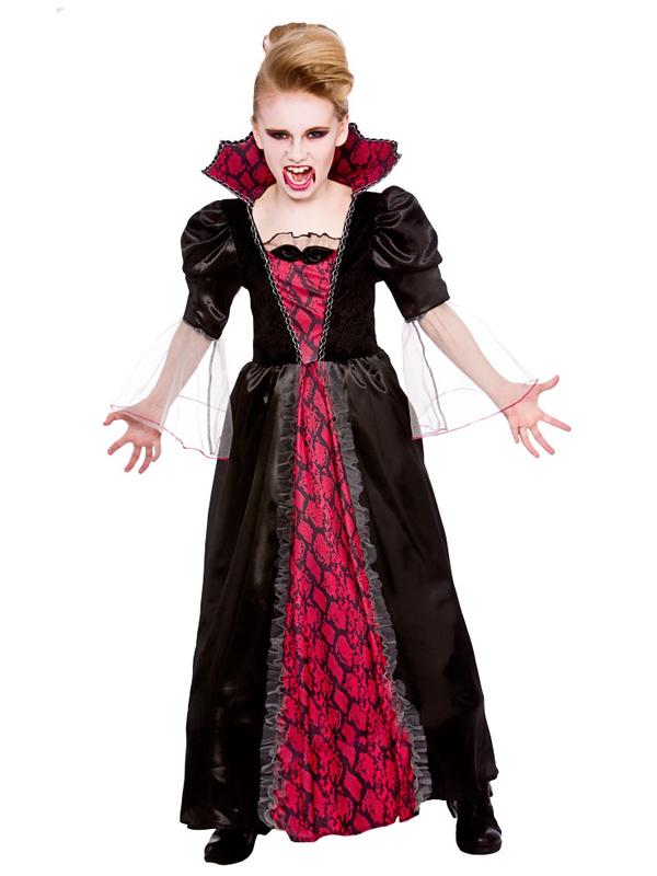 Vestiti Halloween.Dettagli Su Ragazze Halloween Vittoriano Vampiressa Dracula Vampiro Costume Vestito Mostra Il Titolo Originale