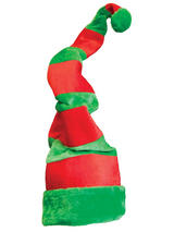 Adult Mens Giant Crazy Elf Hat