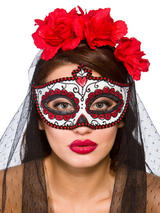 Day Of The Dead Eye Mask