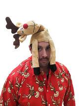 Adult Rudolf Hat