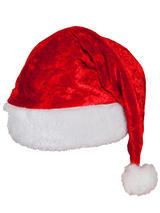 Adult Velvet Santa Hat