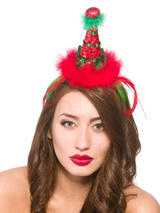 Adult Deluxe Elf Hat On Headband