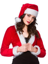 Cute Santa Shrug & Hat Standard