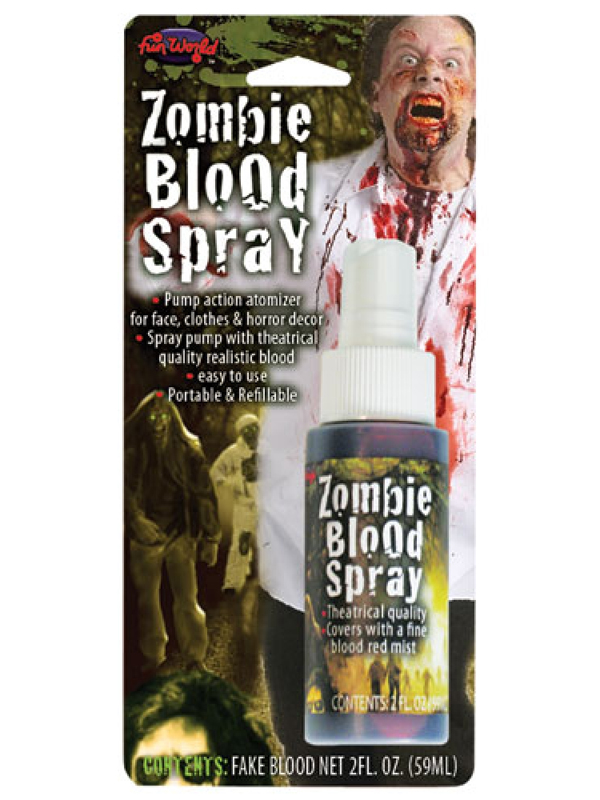 Zombie Blood Spray 2oz Bottle
