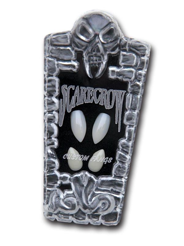 Scarecrow 'TM' Custom 4pc Werewolf Fangs