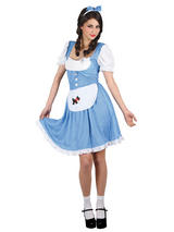 Dorothy Fairy Tale Country Girl Book Week Ladies Fancy Dress Costume XS to XXL