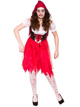 Blood Red Little Dead Riding Hood Costume