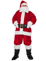 Regal Plush Proffessional Pc Santa Outfit Costume