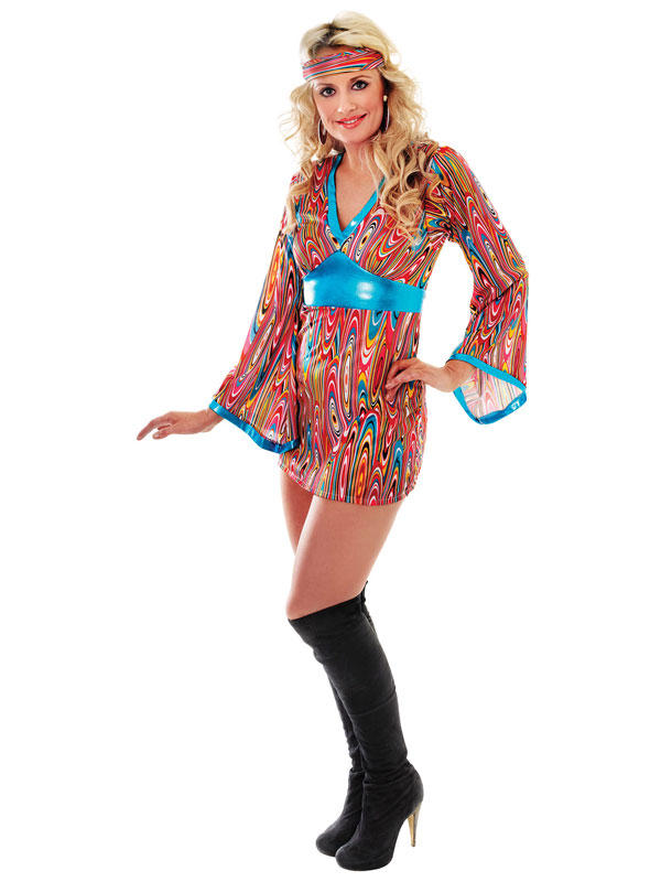 Go Go Swirl Dress Costume Thumbnail 1