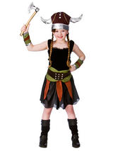 Child Viking Girl Costume
