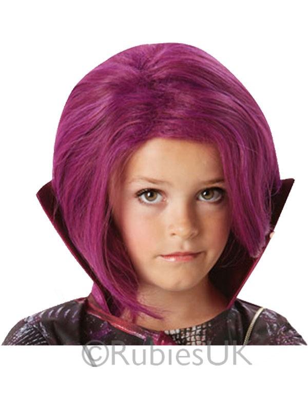 Child Girls Mal Wig Disney Descendants Costume