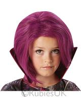 Child Girls Mal Wig Disney Descendants Costume