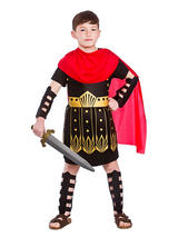 Child Roman Commander Costume