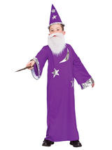 Child Boys Wizard Costume