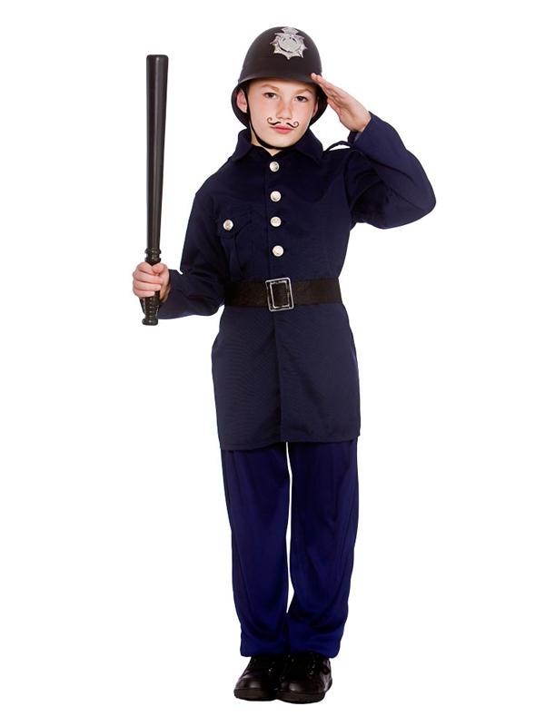 Child Victorian Policeman Costume
