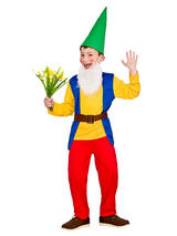 Child Funny Garden Gnome Costume