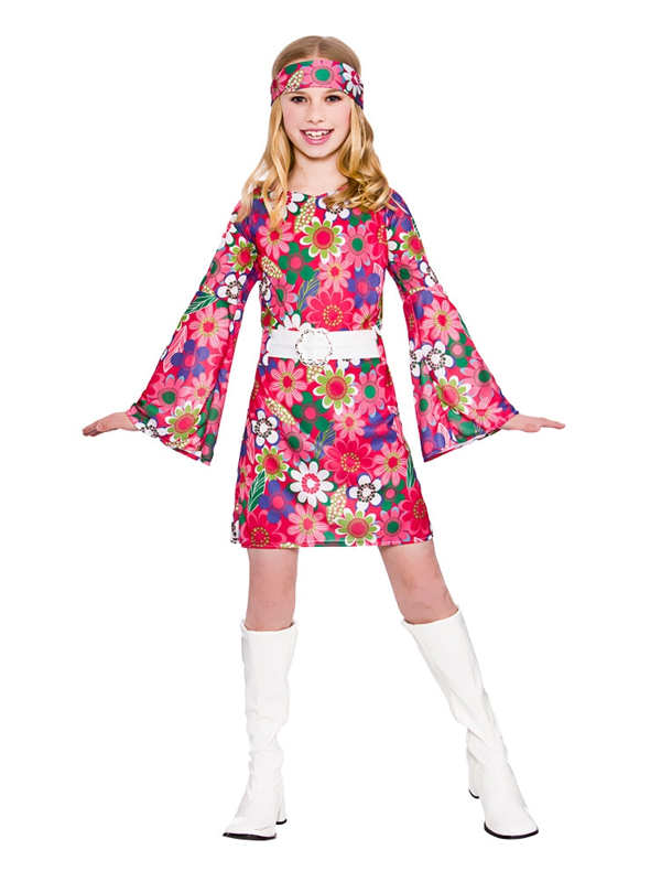 Child Retro Gogo Girl Costume