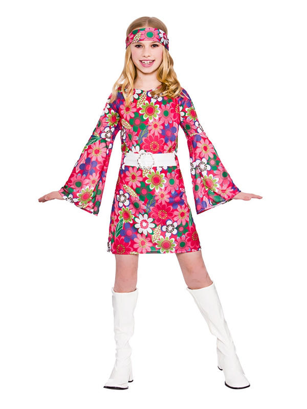 Child Retro Gogo Girl Costume