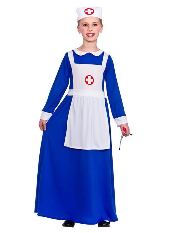 Child Wartime Nurse Costume