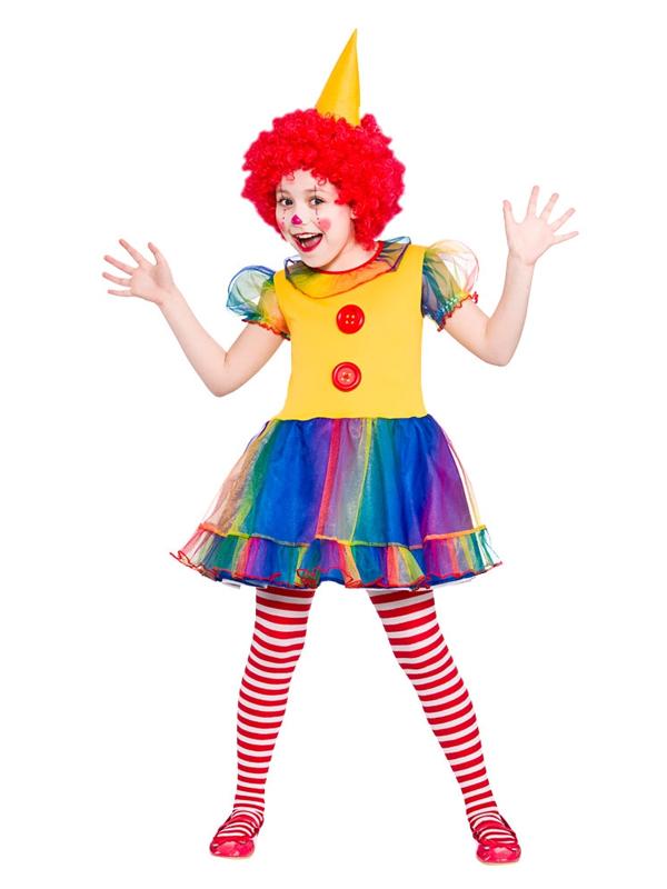 Child Cute Little Clown Costume
