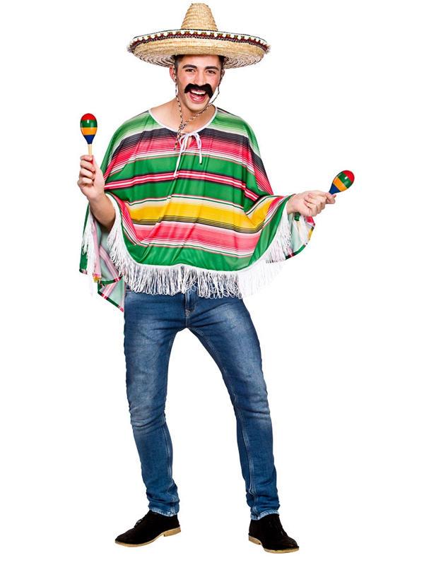 Mexican Bandit Poncho