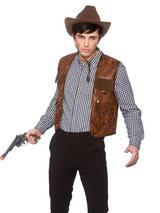 Cowboy Waistcoat Budget Costume