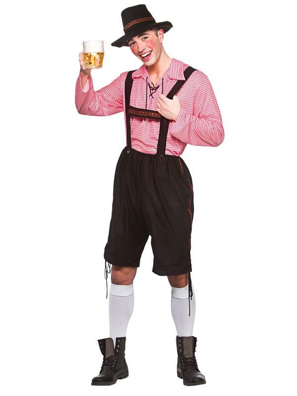 Oktoberfest Party Guy Costume