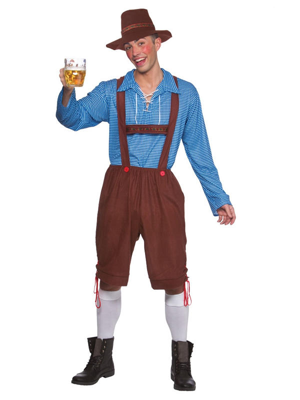 Bavarian Party Guy Costume