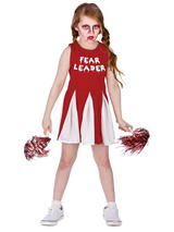 Child Girls Fear Leader Costume