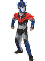 Child Optimus Prime Deluxe Costume