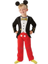 Child Boys Micky Mouse Tuxedo Costume