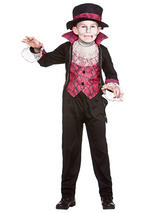 Child Boys Victorian Vampire Costume