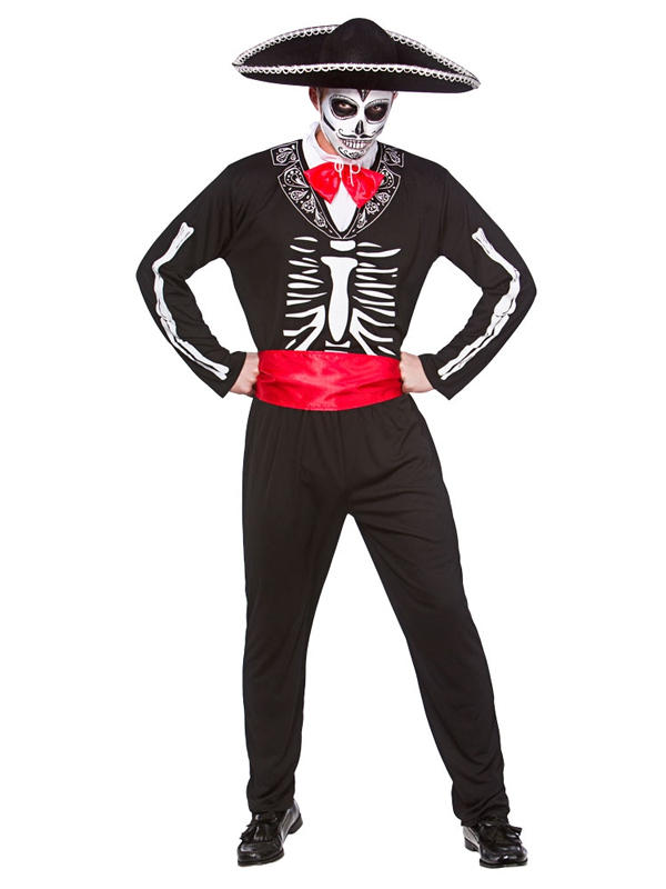 Mariachi Day Of The Dead Costume