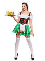 Oktoberfest Beer Girl Costume