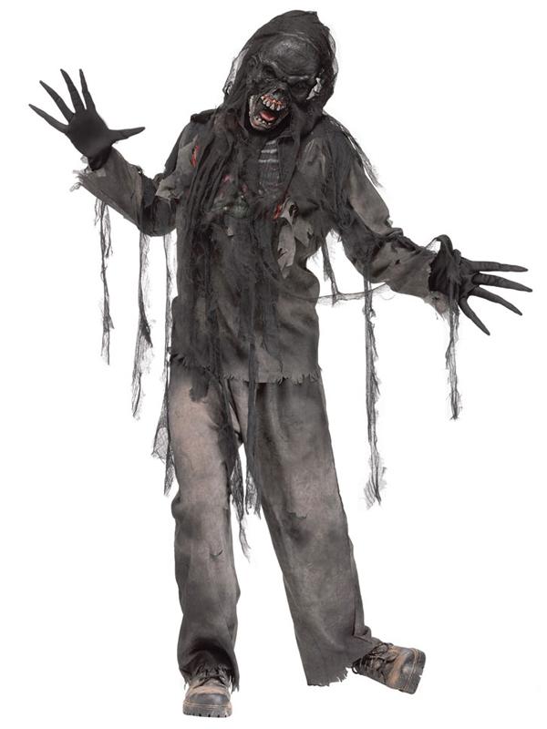 Halloween Costumes Scary Men.Dettagli Su Burning Walking Dead Zombie Maschera Costume Spaventoso Costume Di Halloween Uomini Adulti Mostra Il Titolo Originale