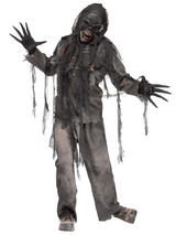 Burning Dead Zombie Costume