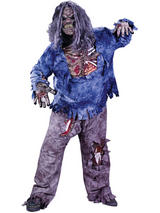 Child Boys Complete Zombie Costume