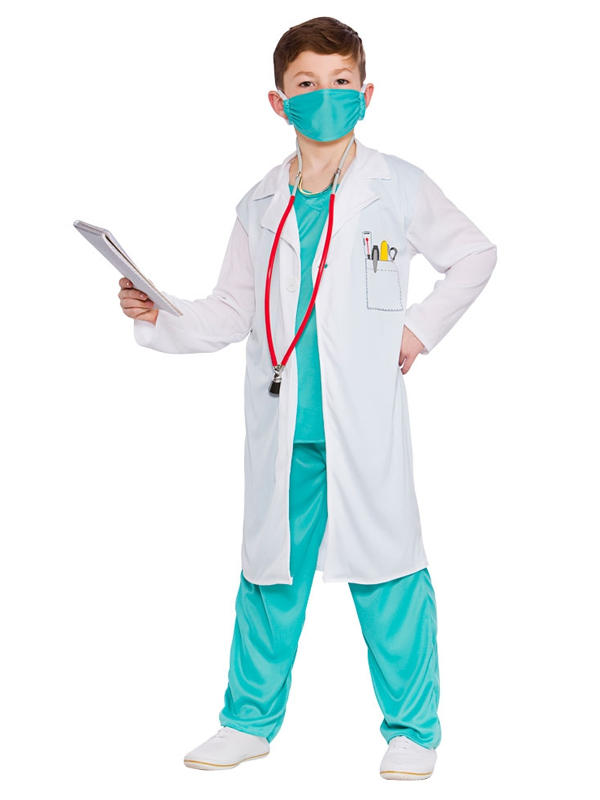Child Hospital Doctor Costume