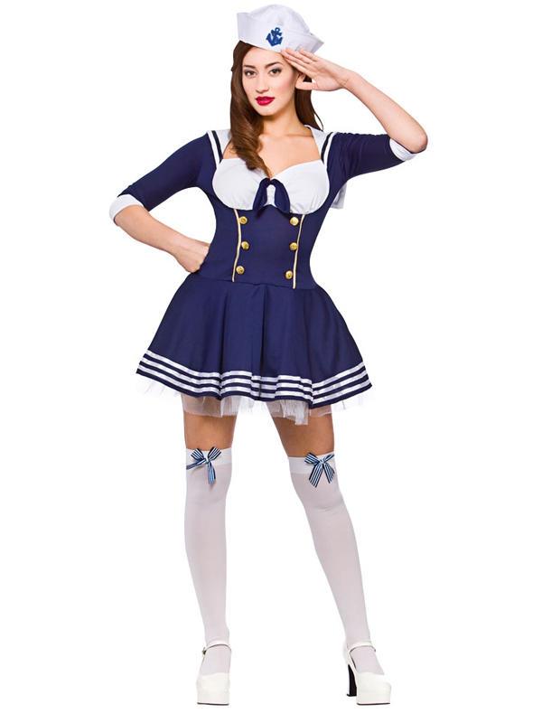 """""""Hello"""" Sailor Costume"""