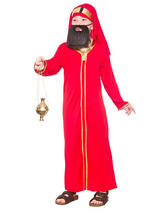 Child Red Wise Man Balthazar Costume