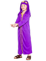 Child Purple Wise Man Melchior Costume