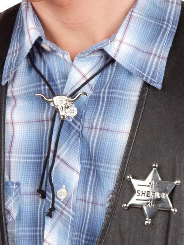 Cowboy String Tie & Badge Thumbnail 2