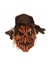 Adult Scarecrow Skull Hat