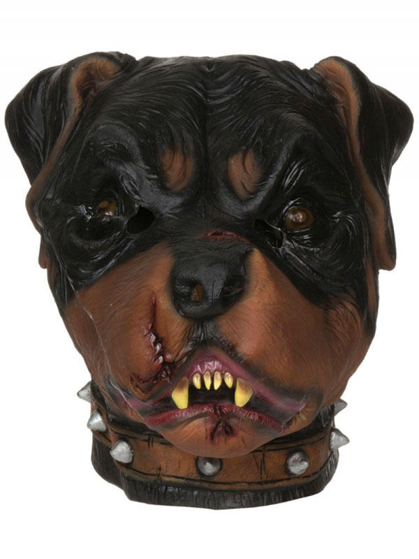 Adult Zombie Rottweiler Mask