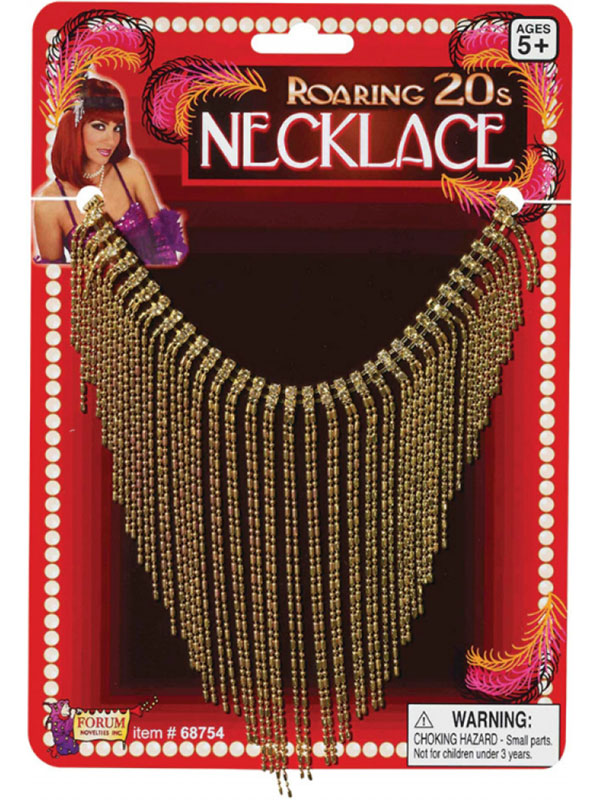 Roaring 20's Gold Necklace