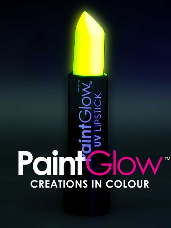Uv Lipstick Neon Yellow