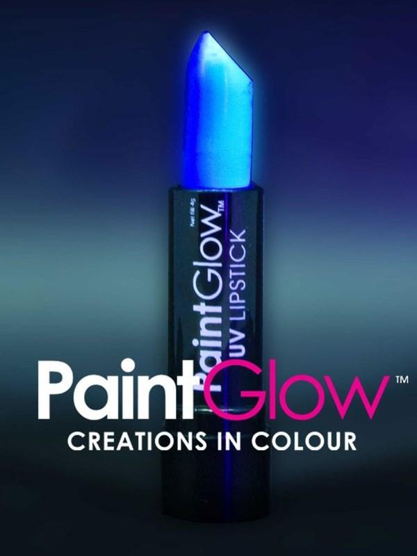 Uv Lipstick Neon Blue Thumbnail 1