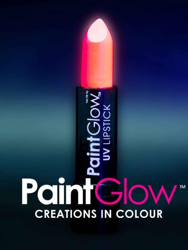 Uv Lipstick Neon Red Thumbnail 1