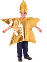 Child Gold Star Costume