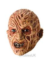Adult Deluxe Freddy Kreuger Latex 3 4 Mask
